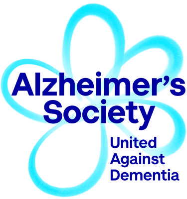 A picture of the Alzheimer's Society logo.