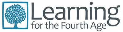 A picture of the Learning for the Fourth Age logo.